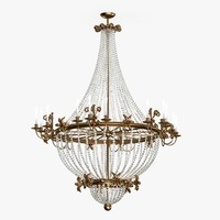 chandelier light 3d max
