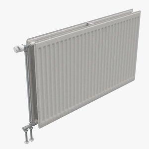 radiators plates 3d c4d