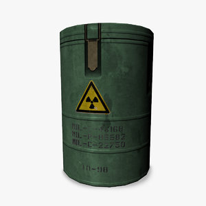 3ds max military container