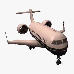3d cartoon airplane