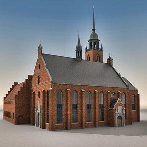 church buildings 3d max
