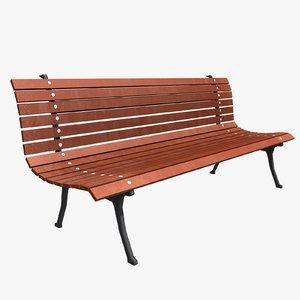 bench ready 3d model