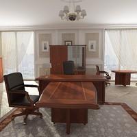 3d model of office