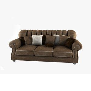 sofa jacqueline 3d model