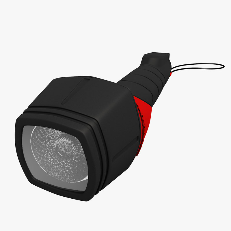eveready torch c4d