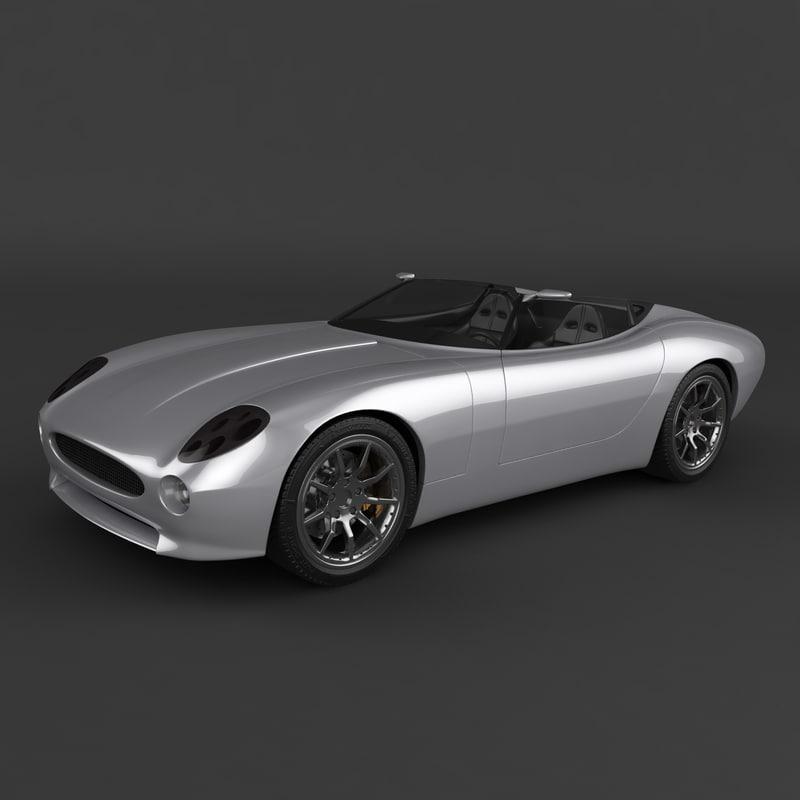 Used Jaguar F Type: F-type 2000 3d 3ds