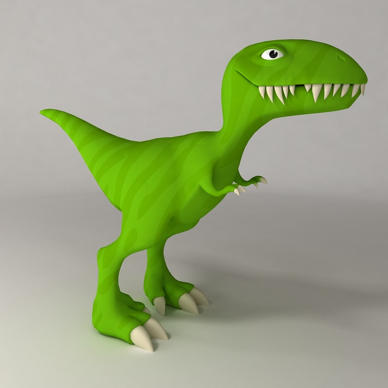 max dinosaur cartoon