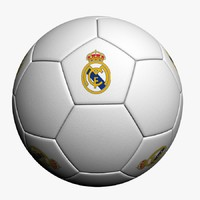 real madrid ball 3d model