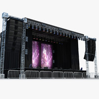 Live Stage - Daylight Scene