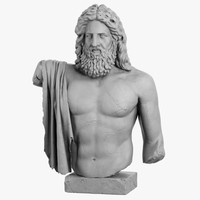 decorative sculpture zeus max