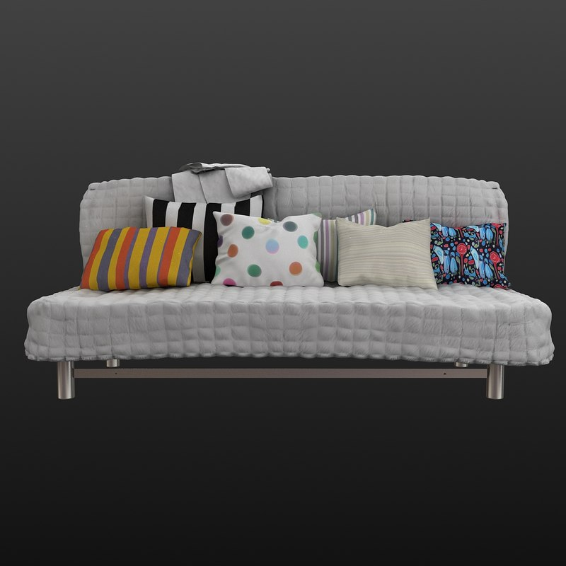 ikea sofa 3ds