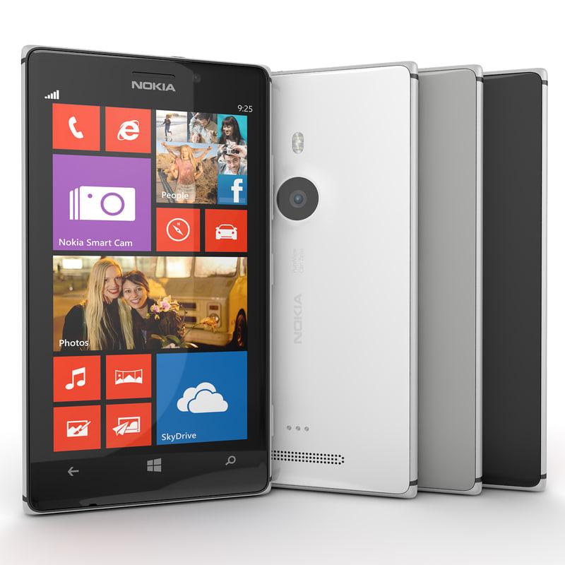 new flagship nokia lumia 3d model