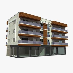 max apartment building 2 city