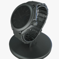 3d model of luxury watch