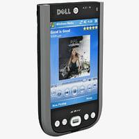 3d dell axim x51v cellphone