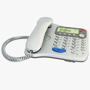 corded phone binatone lyris max
