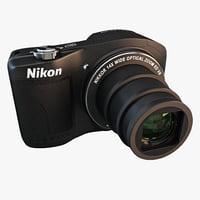 nikon coolpix l610 camera 3d lwo