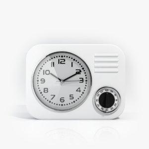 3d model alarm clock
