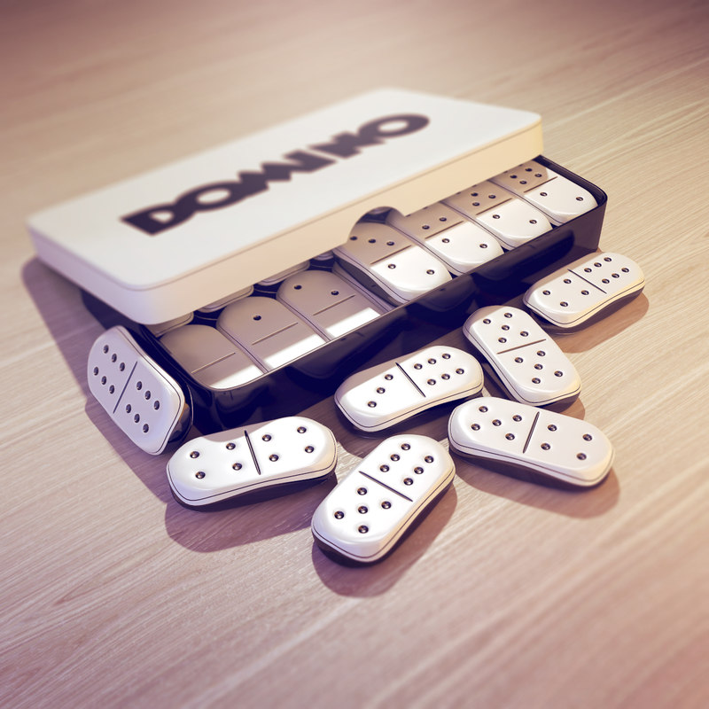 fbx dominoes pieces box