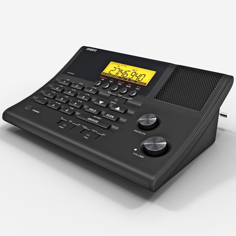 100-channel radio scanner uniden 3ds