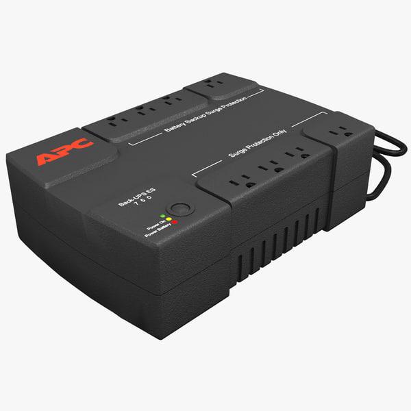 ups apc be550g 3d model