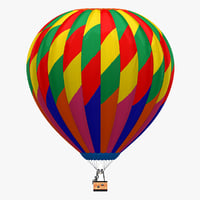 3d air balloon 6 model