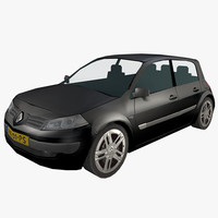 Low Poly Renault Megane