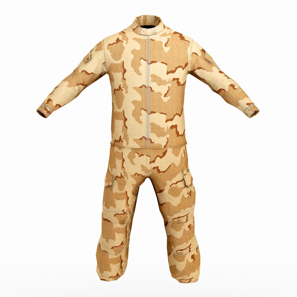 3ds max sas soldier clothes 5