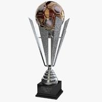 c4d trophy cup