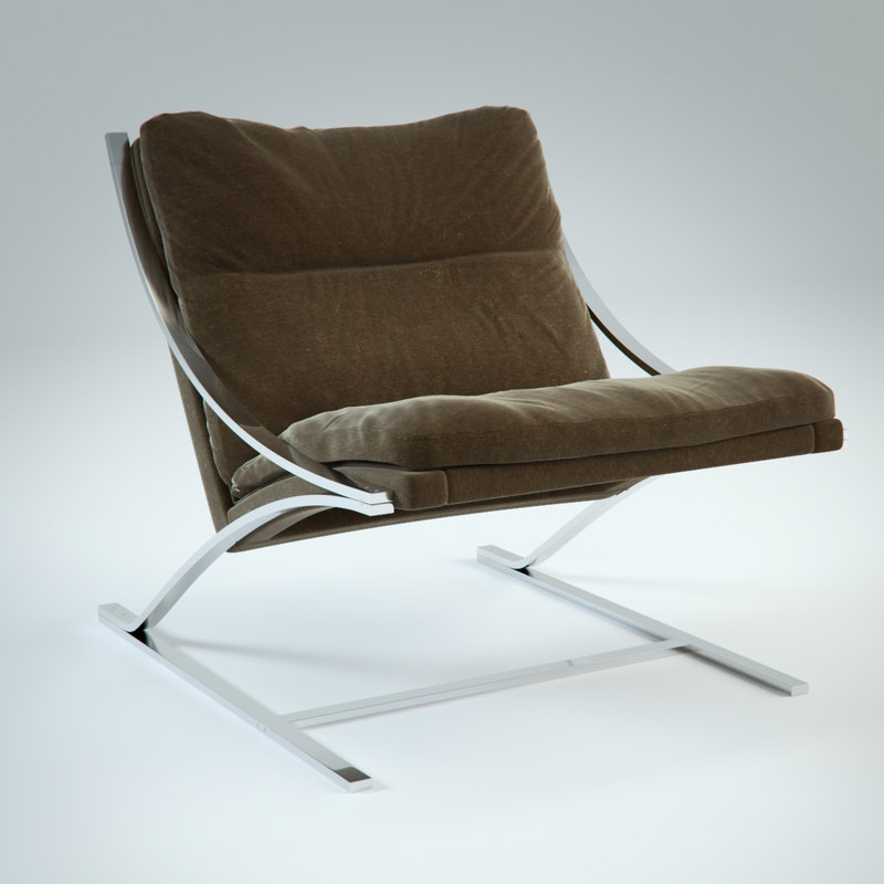 photorealistic zeta chair 3d model