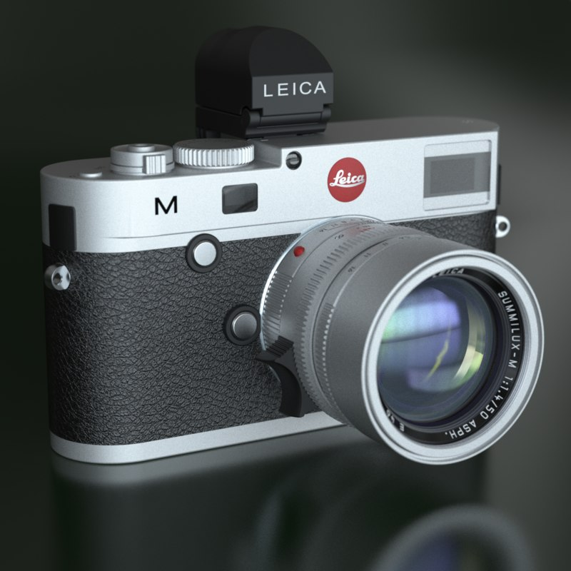 digital camera leica m 3d model