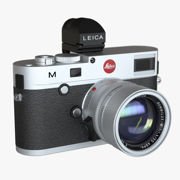 digital camera leica m 3d model