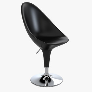 3d model magis bombo swivel chair