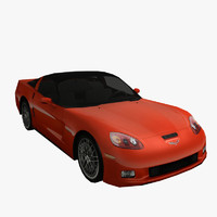 3ds max chevrolet corvette