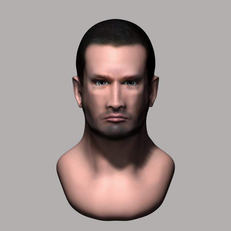 head 2 3d max