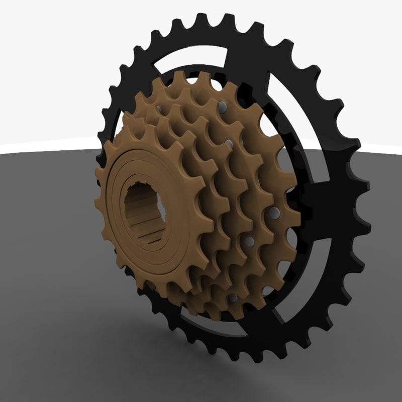 shimano freewheel obj