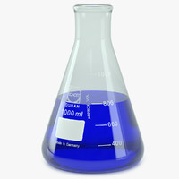Lab Flask Erlenmeyer 1000 ml