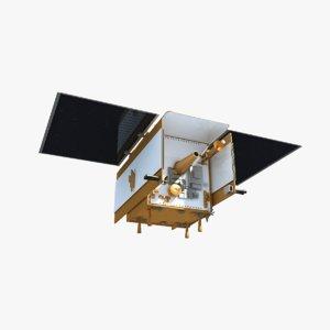 3d grail satellite