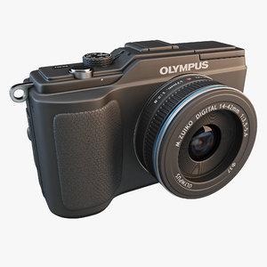 olympus pen e-pl2 camera 3d model