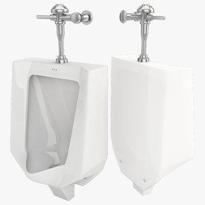 3d model urinal 5