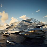 Futuristic Port