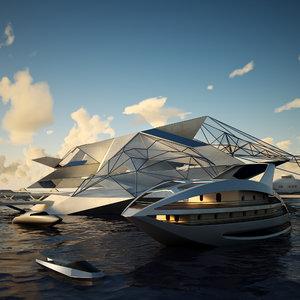 futuristic port max