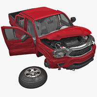 Toyota Tacoma 2012 Crushed