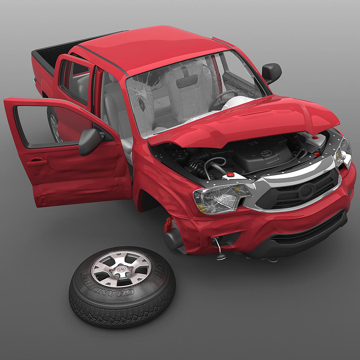 toyota tacoma 2012 crushed 3ds