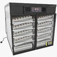 3d model egg incubator