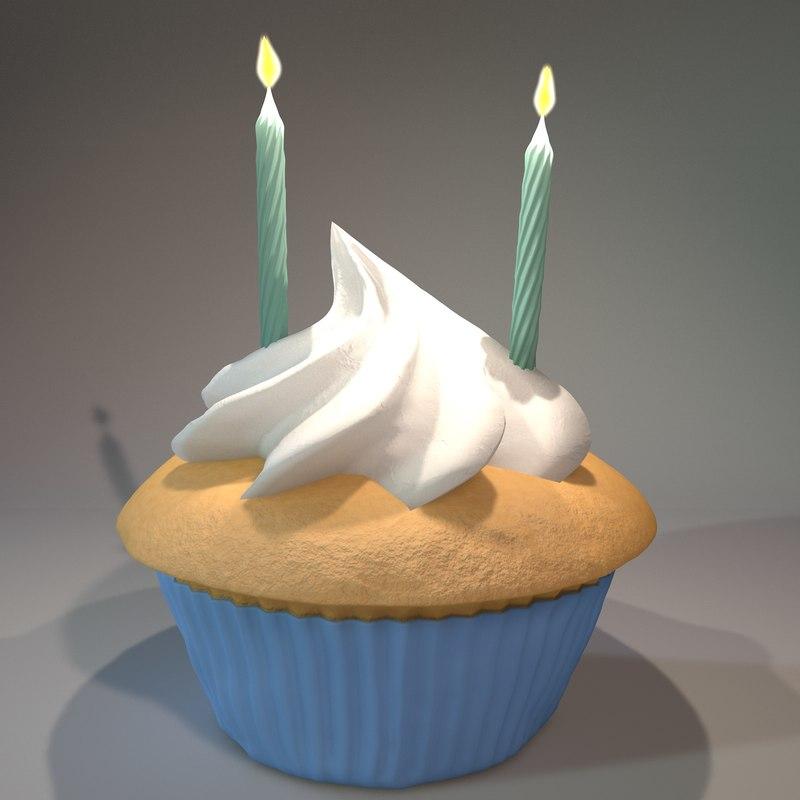 c4d cupcake cake