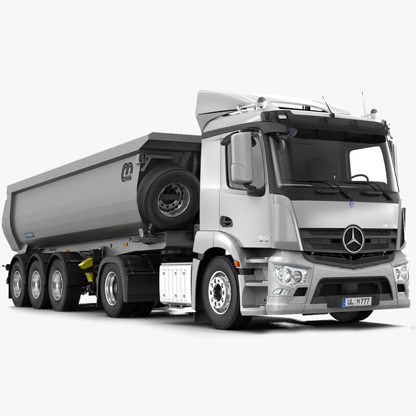 3d model antos tipper