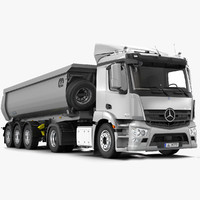 Mercedes Antos 2012 Tippers