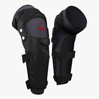 Motocross Knee Protection Thor Force Knee Guards