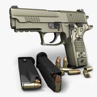 Sig Sauer P229 Scorpion 9mm